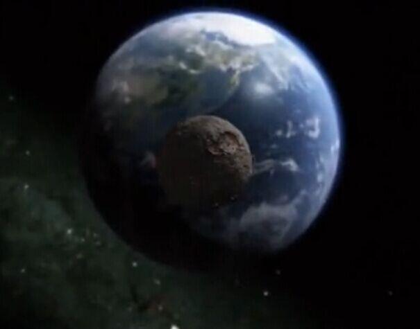 一颗500公里直径陨石撞击地球后会发生的事